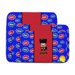 Superhero Memory Foam Bath Mat (Personalized)