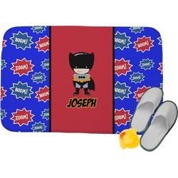 "Superhero Memory Foam Bath Mat - 34""x21"" (Personalized)"