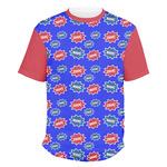 Superhero Men's Crew T-Shirt (Personalized)