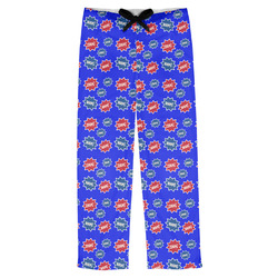 Superhero Mens Pajama Pants (Personalized)