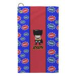 Superhero Microfiber Golf Towel - Small (Personalized)