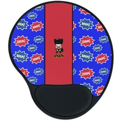 Superhero Mouse Pad with Wrist Support