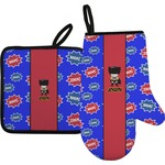 Superhero Oven Mitt & Pot Holder (Personalized)