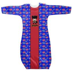 Superhero Newborn Gown (Personalized)