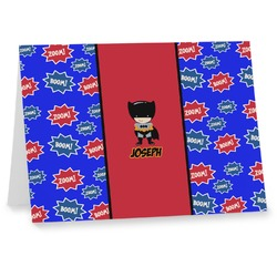 Superhero Notecards (Personalized)
