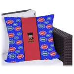 Superhero Outdoor Pillow (Personalized)