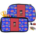 Superhero Pencil / School Supplies Bag (Personalized)