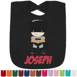 Superhero Bib - Select Color (Personalized)