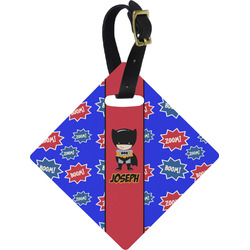 Superhero Diamond Luggage Tag (Personalized)