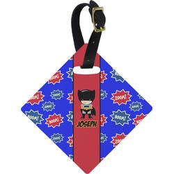 Superhero Diamond Luggage Tag (Personalized)