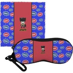 Superhero Eyeglass Case & Cloth (Personalized)