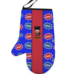 Superhero Left Oven Mitt (Personalized)
