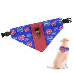 Superhero Dog Bandana - Small (Personalized)