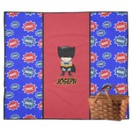 Superhero Outdoor Picnic Blanket (Personalized)