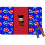 Superhero Rectangular Fridge Magnet (Personalized)