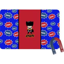 Superhero Rectangular Fridge Magnet (Personalized)
