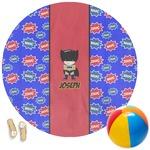 Superhero Round Beach Towel (Personalized)