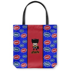 Superhero Canvas Tote Bag (Personalized)