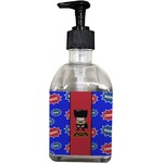 Superhero Soap/Lotion Dispenser (Glass) (Personalized)