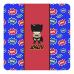 Superhero Square Decal - Custom Size (Personalized)