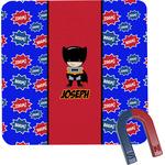 Superhero Square Fridge Magnet (Personalized)