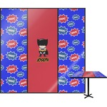 Superhero Square Table Top (Personalized)