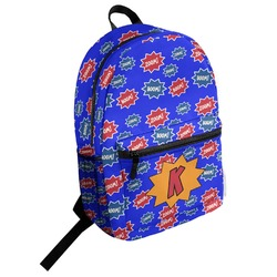 Superhero Student Backpack (Personalized)