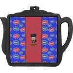 Superhero Teapot Trivet (Personalized)