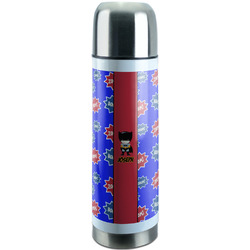 Superhero Stainless Steel Thermos (Personalized)