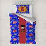 Superhero Toddler Bedding w/ Name or Text