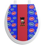 Superhero Toilet Seat Decal (Personalized)