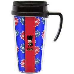 Superhero Travel Mug with Handle (Personalized)