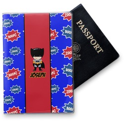 Superhero Vinyl Passport Holder (Personalized)