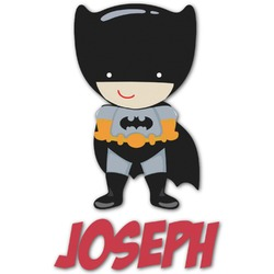 Superhero Graphic Decal - Custom Sized (Personalized)