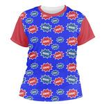 Superhero Women's Crew T-Shirt (Personalized)