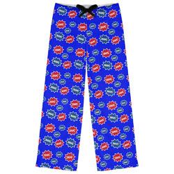 Superhero Womens Pajama Pants (Personalized)