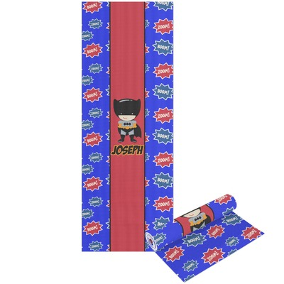 Superhero Yoga Mat - Printable Front and Back (Personalized)
