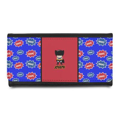 Superhero Leatherette Ladies Wallet (Personalized)