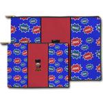 Superhero Zipper Pouch (Personalized)