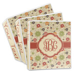 Fall Flowers 3-Ring Binder (Personalized)