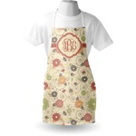 Fall Flowers Apron (Personalized)