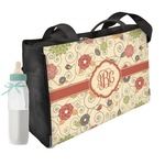 Fall Flowers Diaper Bag (Personalized)