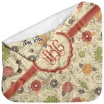 Fall Flowers Baby Hooded Towel (Personalized)