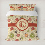 Fall Flowers Duvet Covers (Personalized)