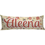 Fall Flowers Body Pillow Case (Personalized)