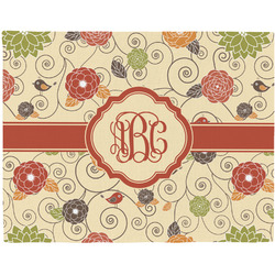 Fall Flowers Placemat (Fabric) (Personalized)