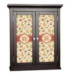 Fall Flowers Cabinet Decal - Custom Size (Personalized)