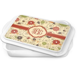 Fall Flowers Cake Pan (Personalized)