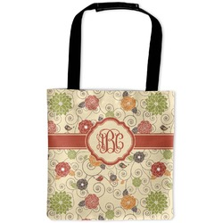 Fall Flowers Auto Back Seat Organizer Bag (Personalized)