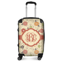 Fall Flowers Suitcase (Personalized)